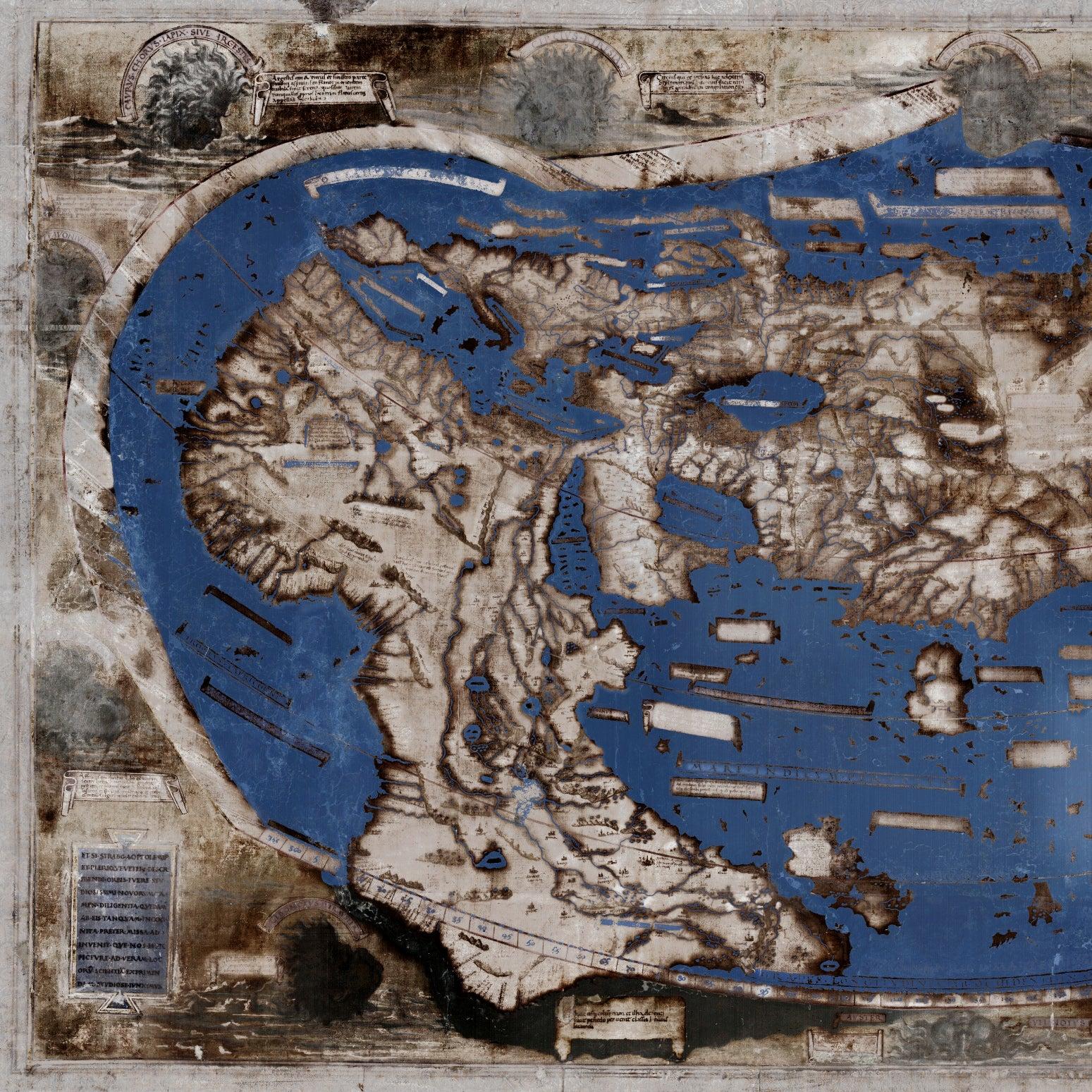1491 Martellus map