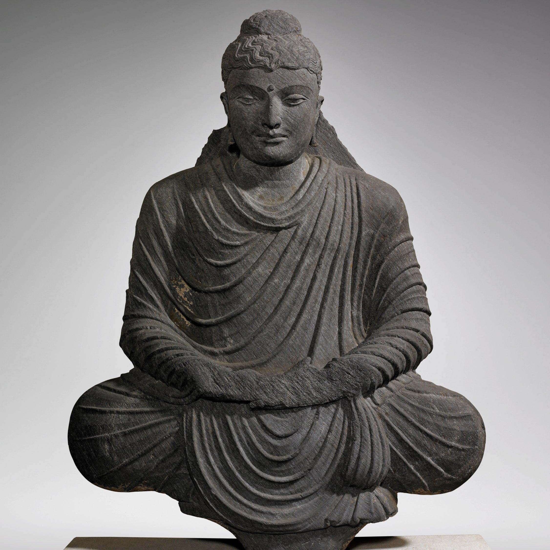 Seated Buddha in Meditation