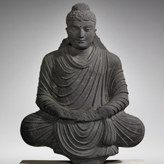 Seated Buddha in Meditation